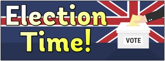 'Election Time!' Banner