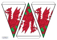 Flag Bunting - Wales