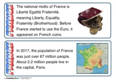 France Fact Cards