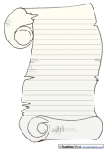 Scroll Paper - Lined