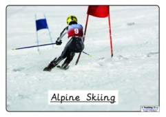 Winter Olympics Sports - Titles Only
