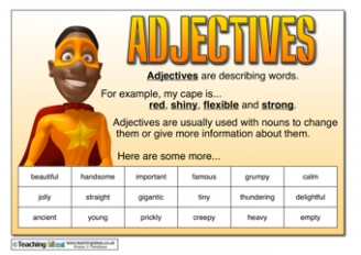 Adjectives Resources