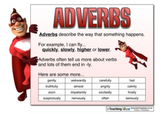 Adverbs Resources
