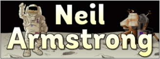 Neil Armstrong Banner