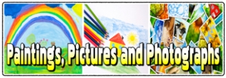 Paintings, Pictures and Photographs Banner