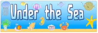 Under the Sea Banner
