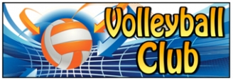 Volleyball Club Banner
