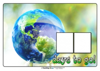 Countdown to Earth Day