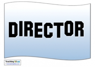 Director's Chair Sign