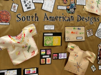 South American Designs Display