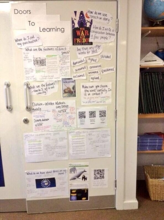 Doors to Learning Display