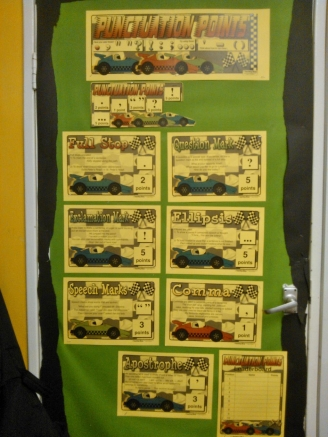 Punctuation Points Display