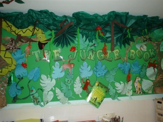 The Jungle Book Display