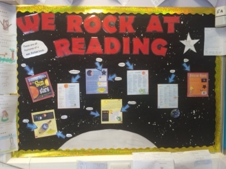 We Rock at Reading! Display