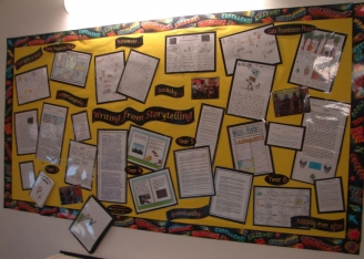 Writing from Storytelling Display