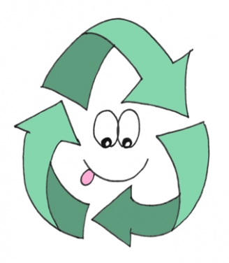 Recycling Symbol Display Picture