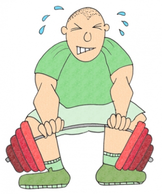 Weightlifting Display Picture