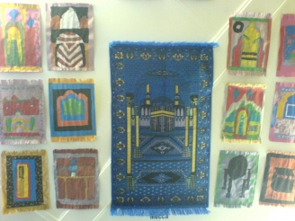 Prayer Mats display