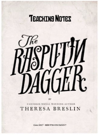 The Rasputin Dagger Teaching Notes