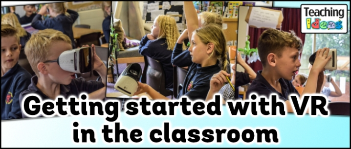 Getting started with VR in the classroom