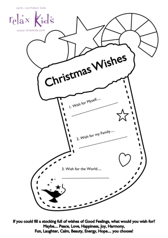 Christmas Wish Stocking