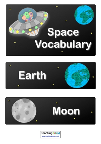 Space Vocabulary