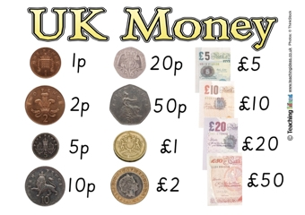UK Money Poster