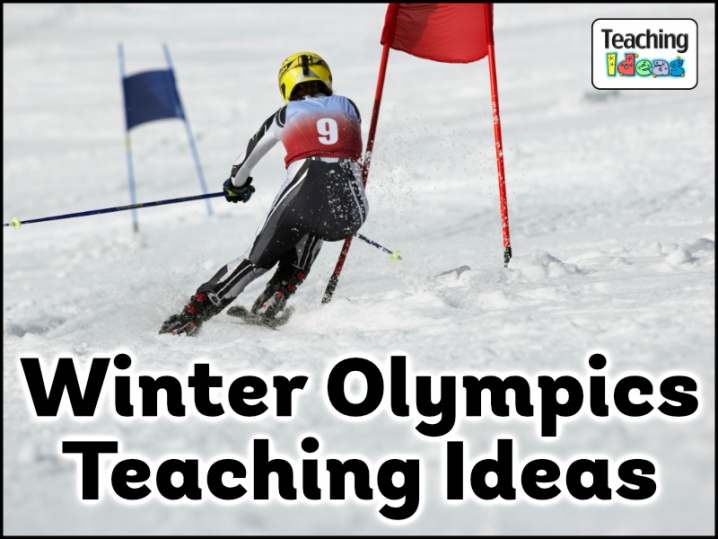 Winter Olympics Teaching Ideas