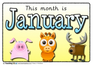 Months Posters